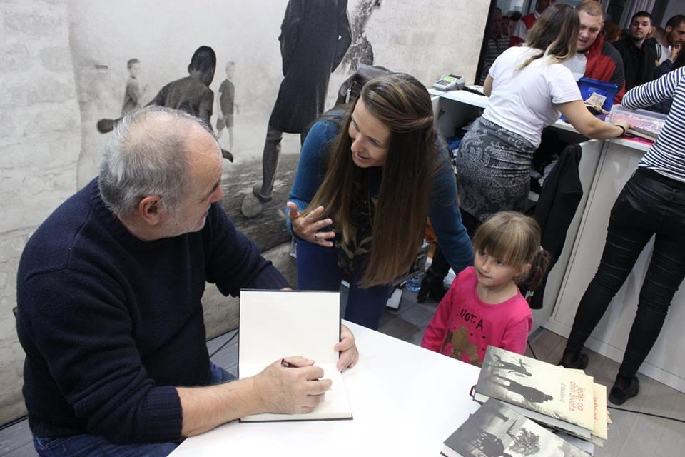Potpisivanje knjiga Beograd sajam